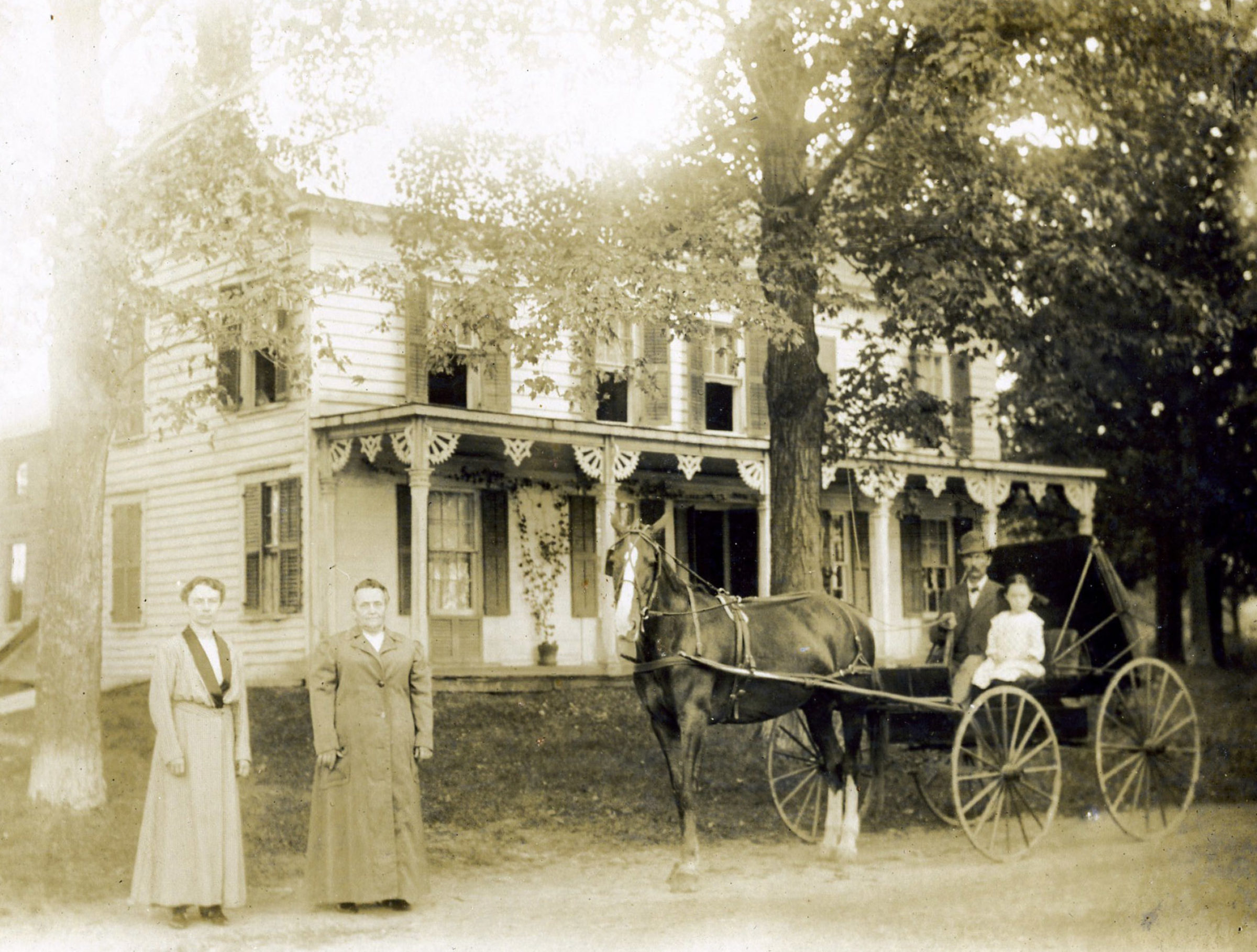 "In the 1800's, New Concord B&B was a stage coach stop and inn known as the ""Publick House"""